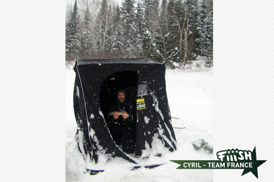 Cyril / Pêche de la lotte d'hiver – 1ère Partie