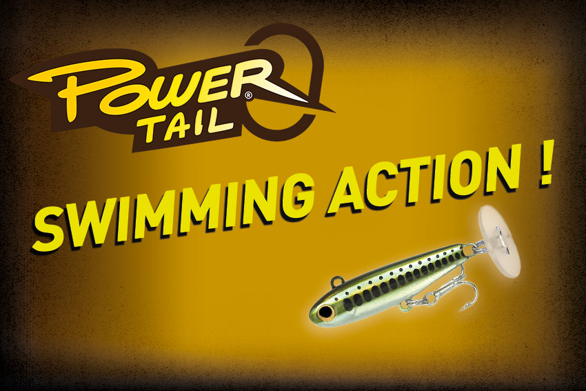 Nage du Power Tail – Power Tail Swimming Action