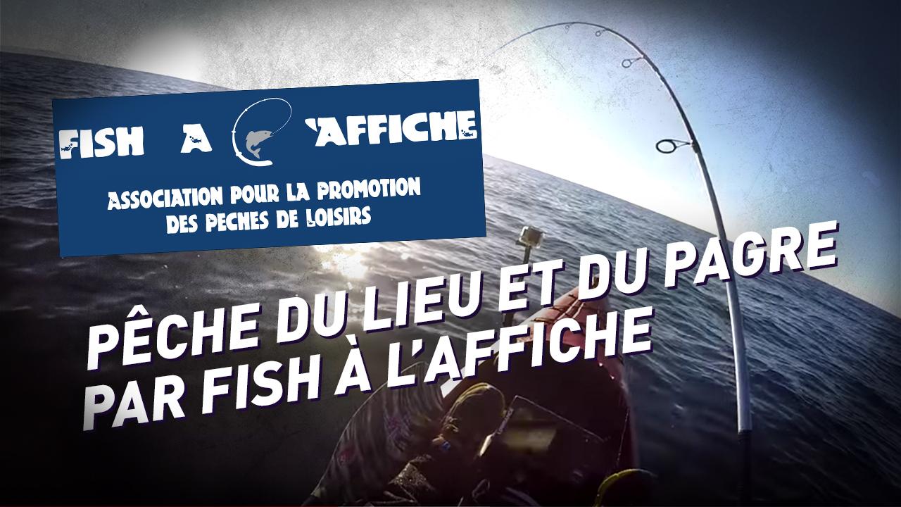 Fish à l'affiche / Lieus et Pagres de Janvier