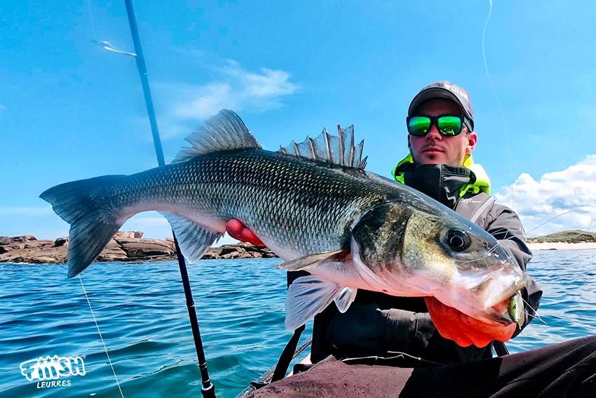 Goulven / 12h de pêche, des poissons compliqués, un lunker