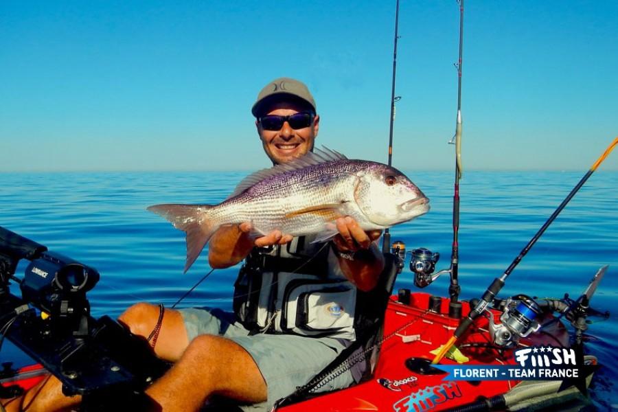 Florent / Pêche le long des côtes en kayak