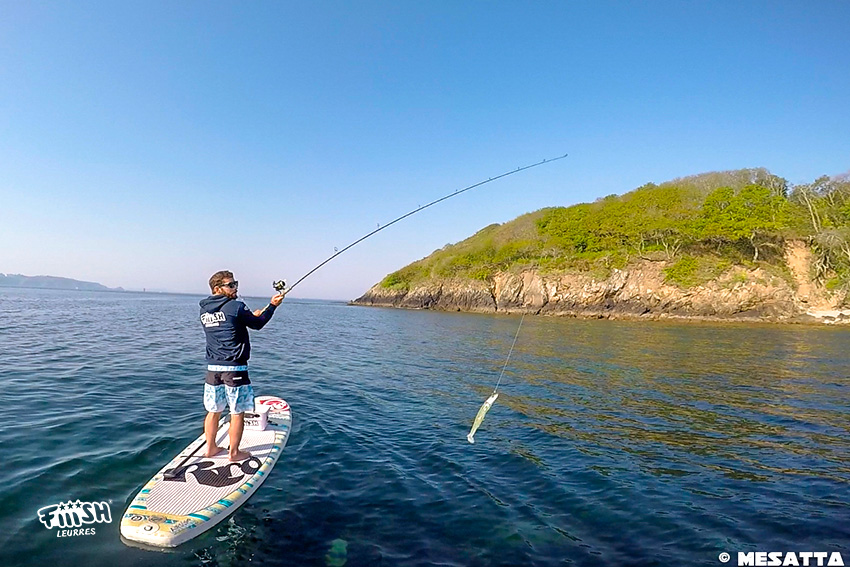 Philippe / Sup fishing in BZH